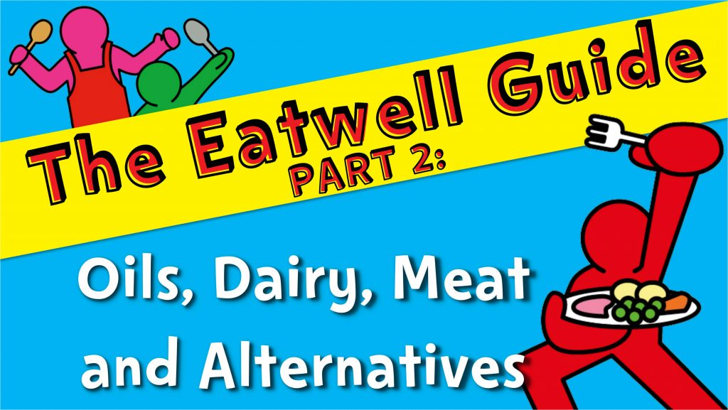Change4Life Eatwell Guide: Part 2 – Oils, Dairy, Meat and Alternatives